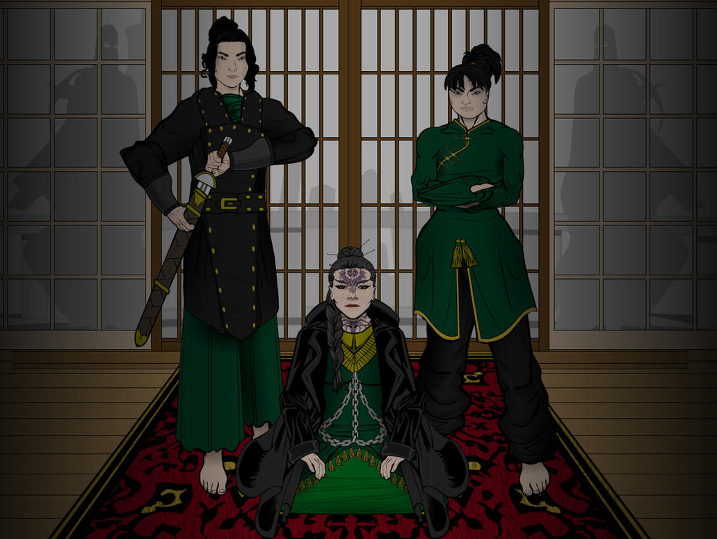 Matriarch Shen, Koshi and Koba by Sulemania