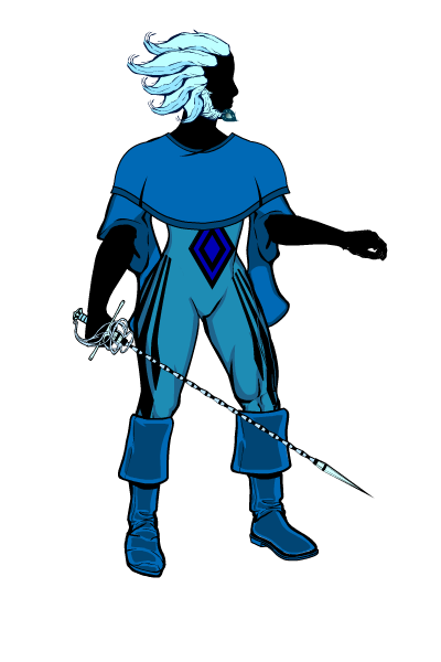 Apatite silhouette base by Sulemania