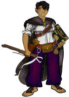 Halfling Conjurer by Sulemania