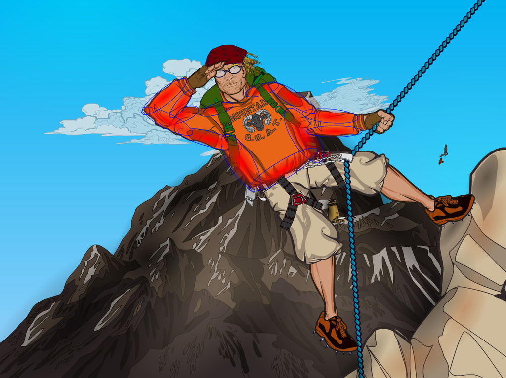 Mountain Climber 8 by Sulemania