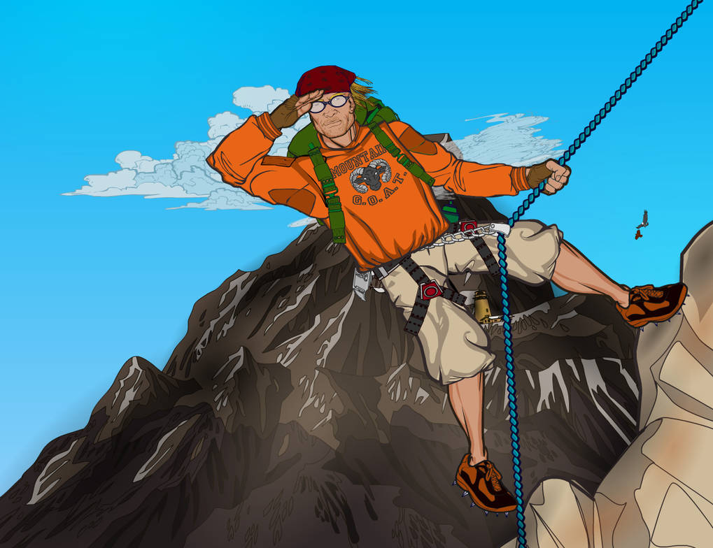Mountain Climber 7 by Sulemania