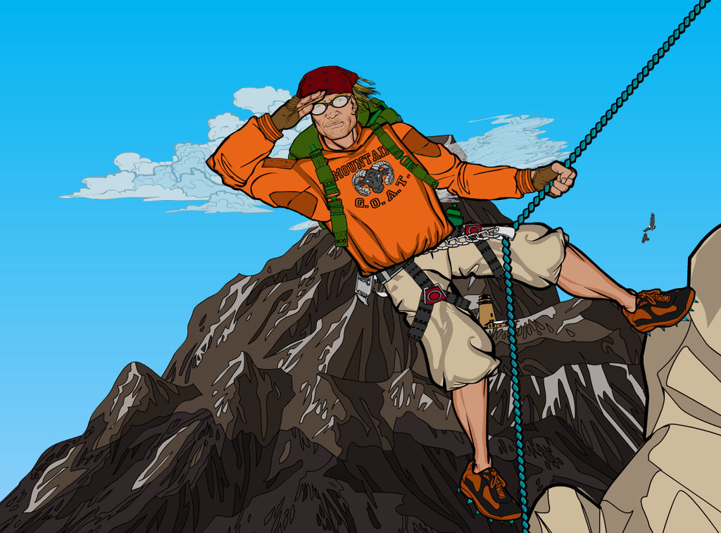 Mountain Climber 6 by Sulemania
