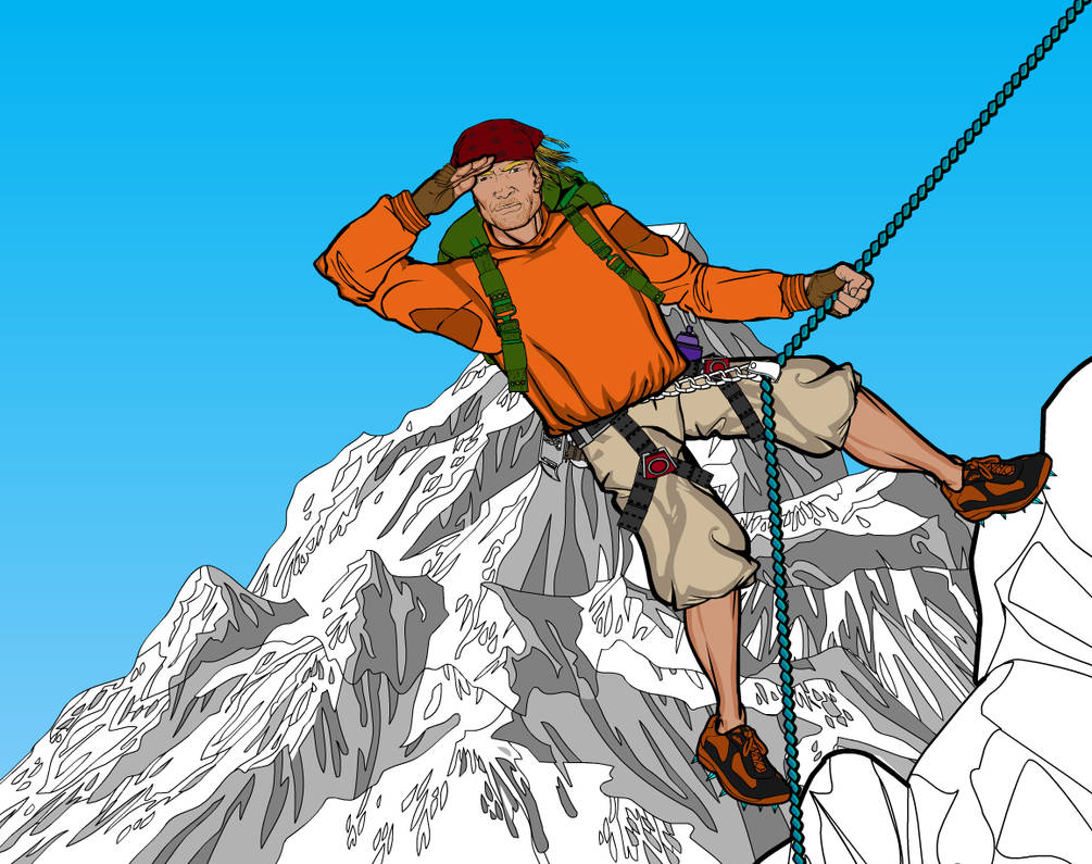 Mountain Climber 5 by Sulemania