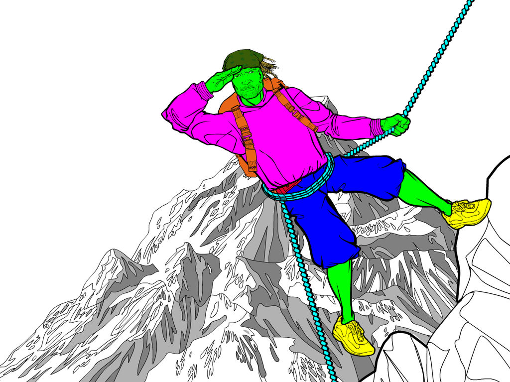 Mountain Climber 3 by Sulemania