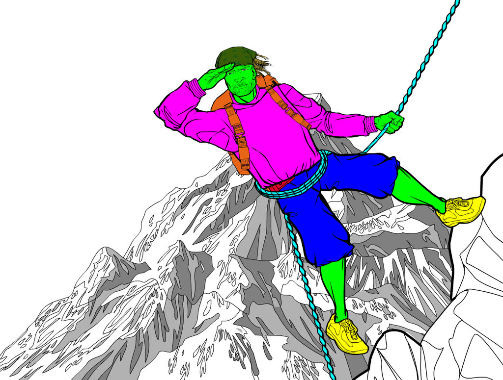 Mountain Climber 2 by Sulemania