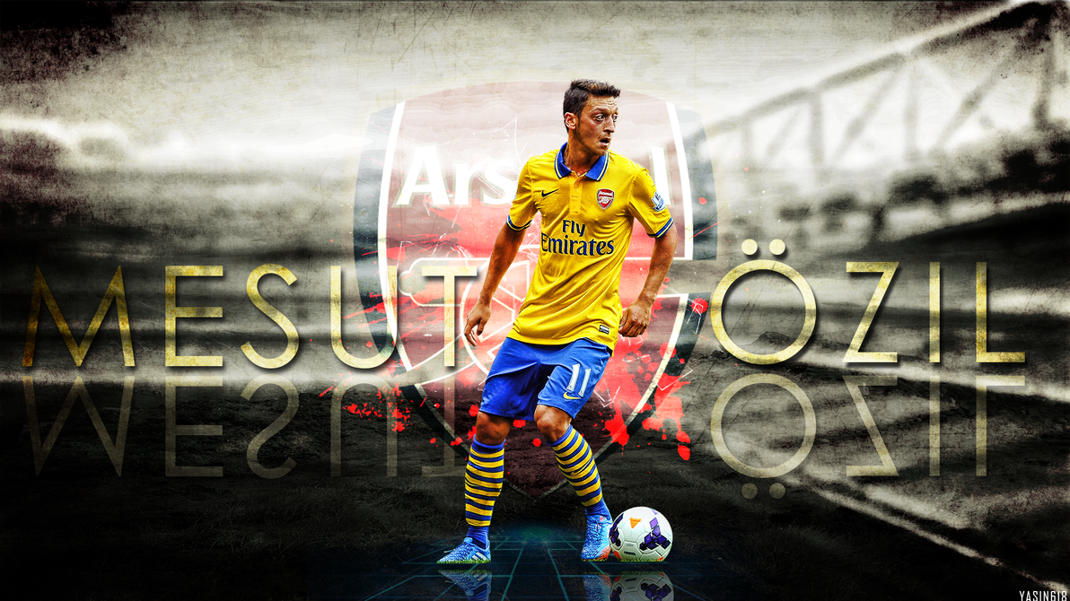 Mesut Ozil By Yasin-618 On DeviantArt