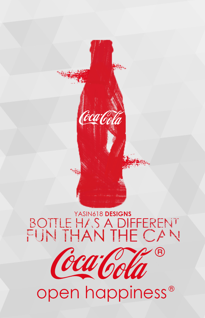 Coca Cola Poster by Yasin-618 on DeviantArt