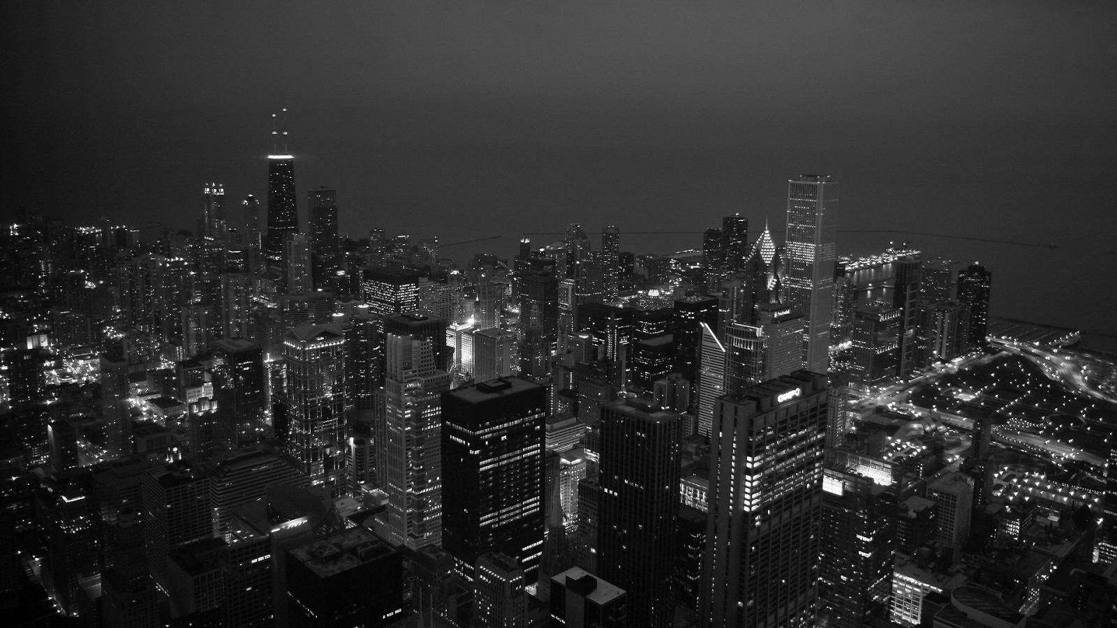 A Chicago Nighttime Photo by jakeroot