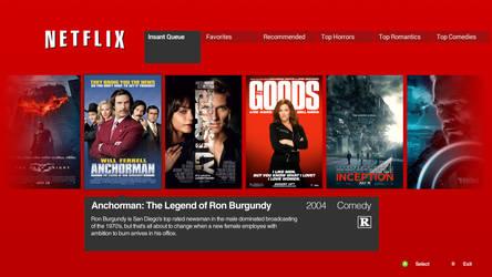 New Netflix Xbox 360 Application