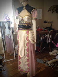 Fantasy of the Dream East witch Sakizo Cosplay WIP