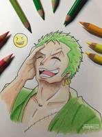 Zoro -- One Piece by HardH3rtz
