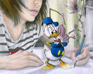 Annoyied Donald by NoRuLLa