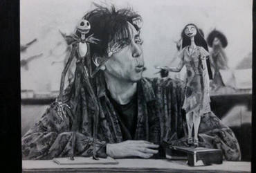 Old drawings: Tim Burton by NoRuLLa
