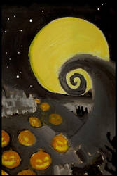 The Nightmare Berofe Christmas by NoRuLLa