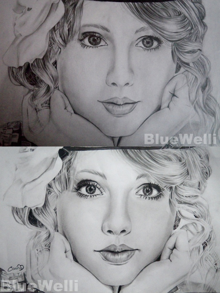 Taylor Swift Comparison 2 by BlueWelli