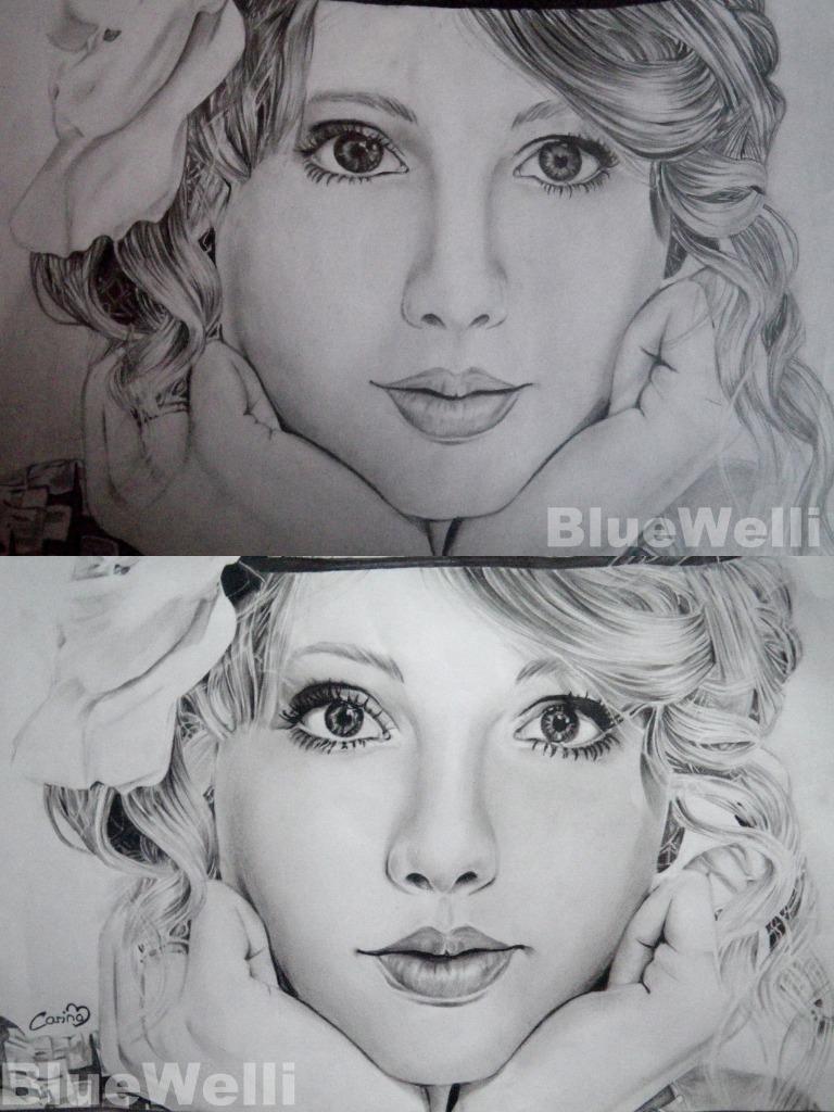 Taylor Swift Comparison 2 by BlueWelli