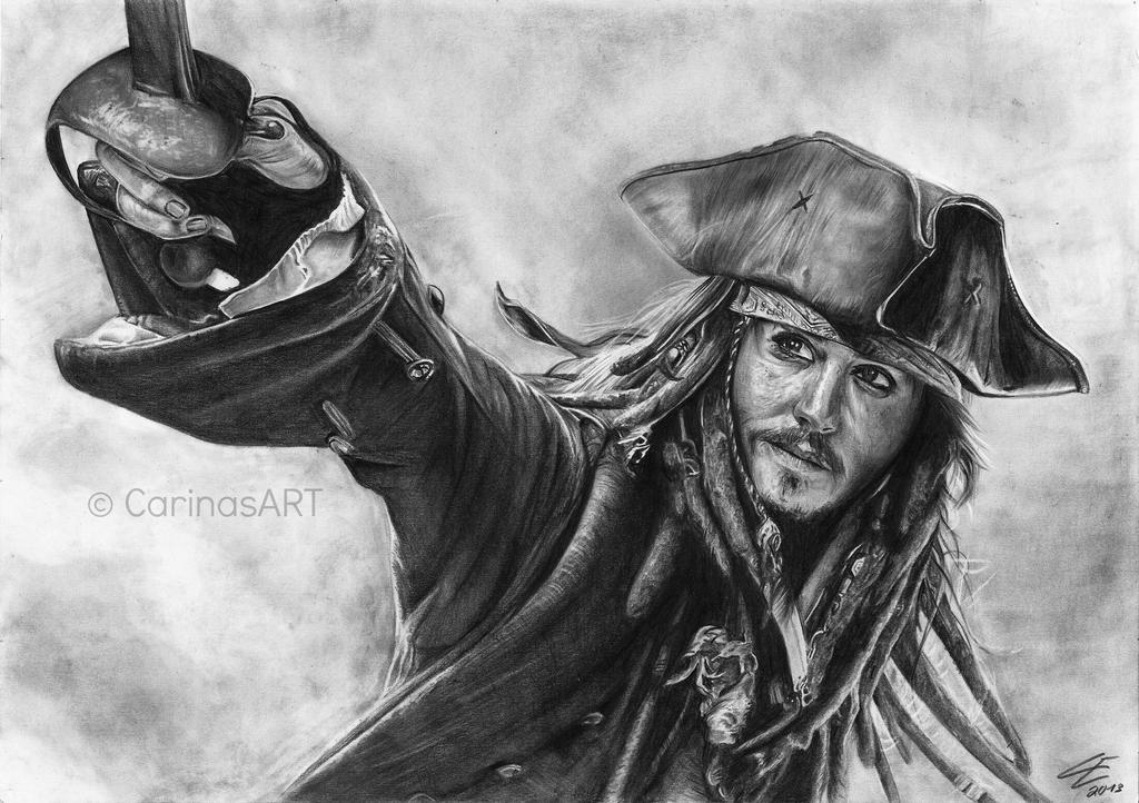 Jack Sparrow by BlueWelli