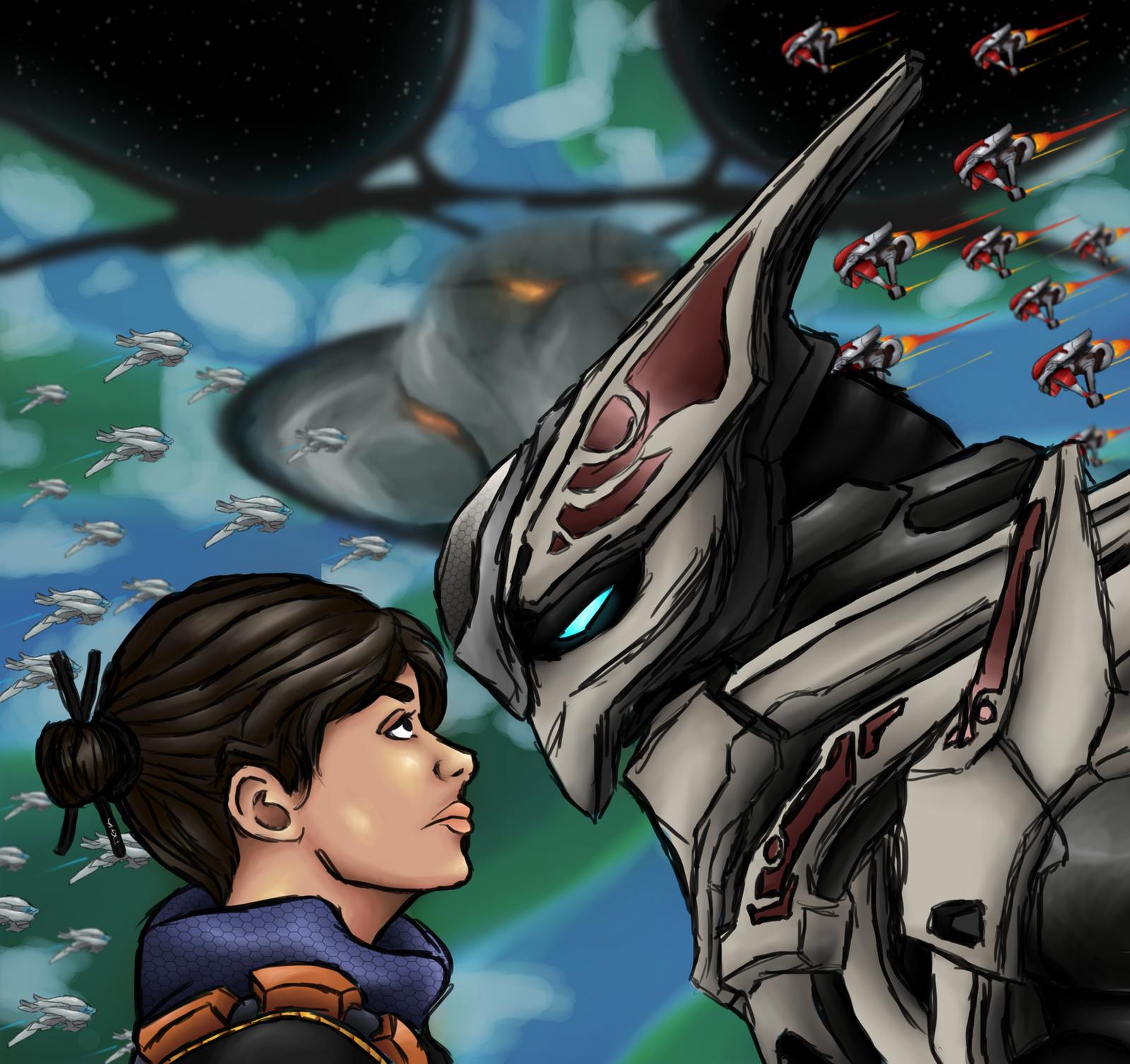 Halo Wars 2 : Warring Skies Above The Ark by DarjingWriter