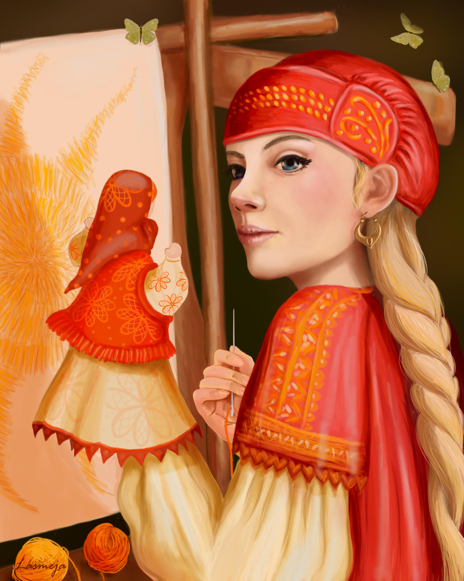 Vasilisa the Wise by LasmejaLora