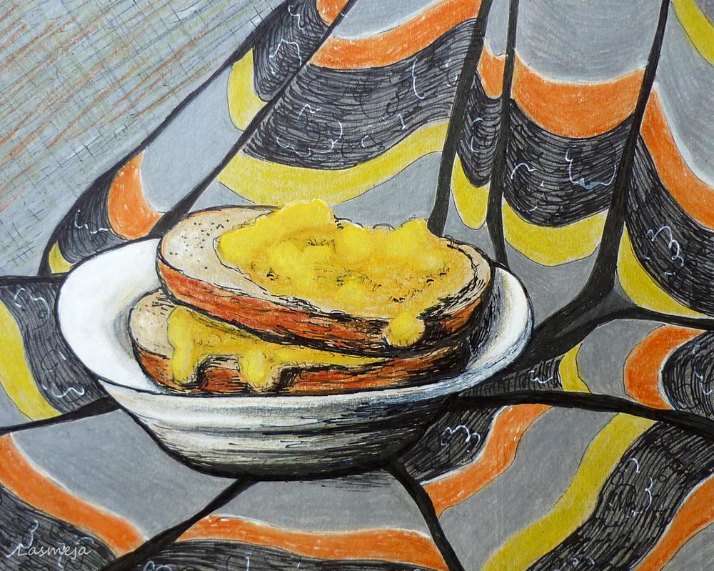 hot sandwich by LasmejaLora