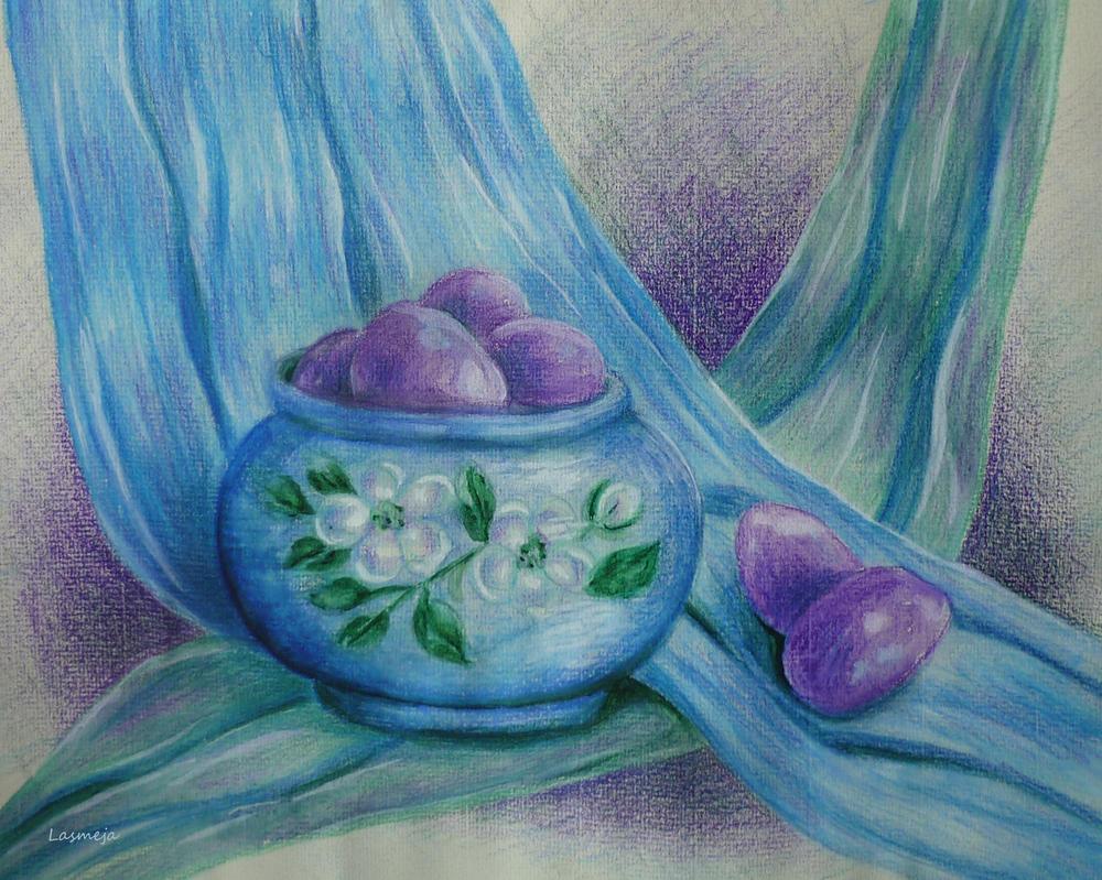 plums by LasmejaLora