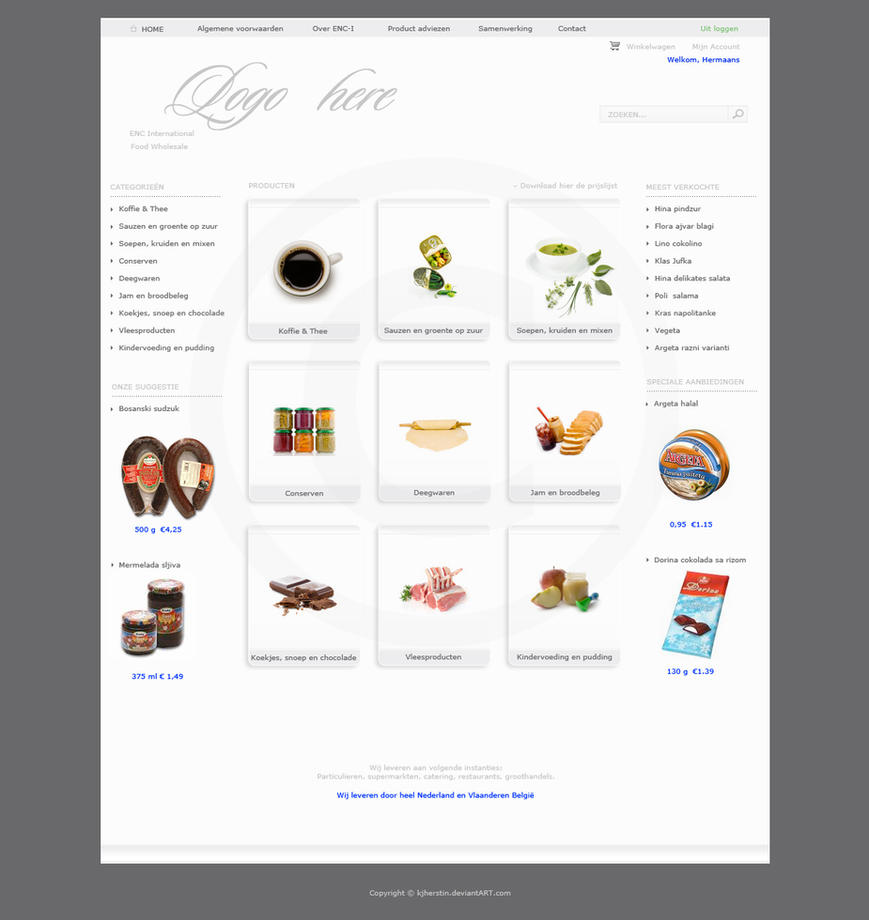 ENC International Web by Kjherstin