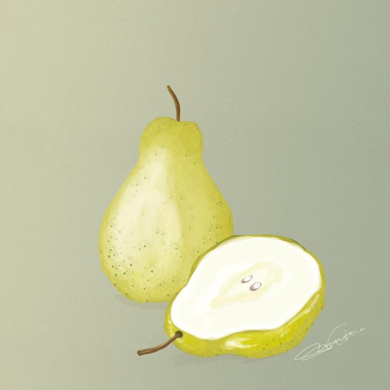 pears by Kjherstin