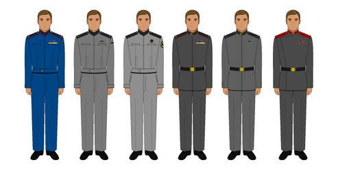 Babylon 5 Uniforms - The Gathering