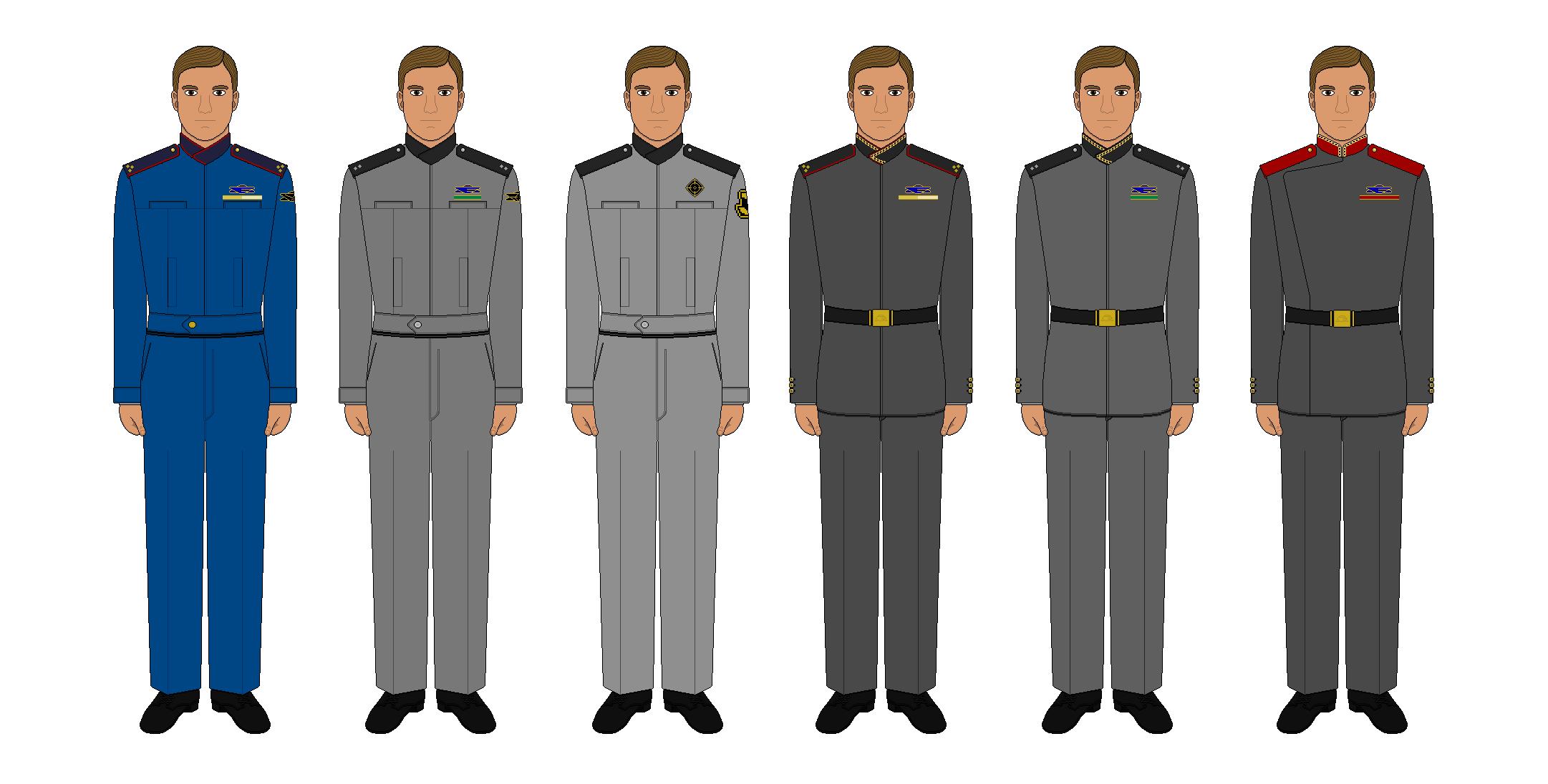 Babylon 5 Uniform Patterns