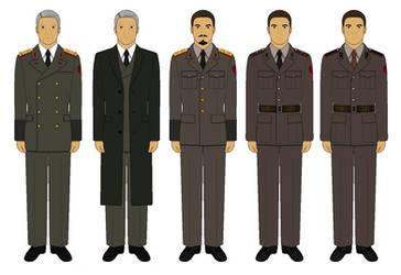 Jin-Roh Uniforms