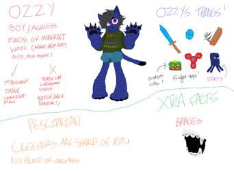 Ozzy (with info) by pineappleboyz