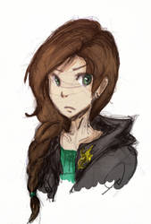 Katniss by Lacrymosa-AM