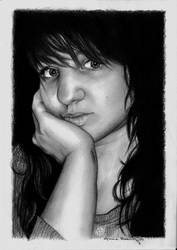 Another Selfportrait by DarthHoney