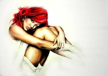 Rihanna by DarthHoney