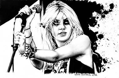 Taylor Momsen by DarthHoney