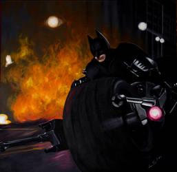 Batman by DarthHoney