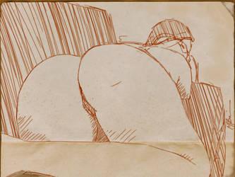 Iris sketch by Brandoch-Daha