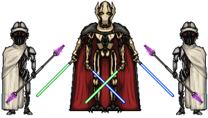 Star Wars - General Grievous and Guards