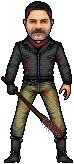 The Walking Dead - Negan by MrKinetix