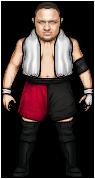WWE :: Samoa Joe by MrKinetix