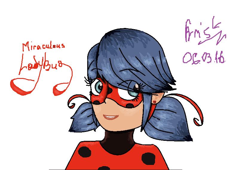 Miraculous LadyBug by Kristalina-Shining