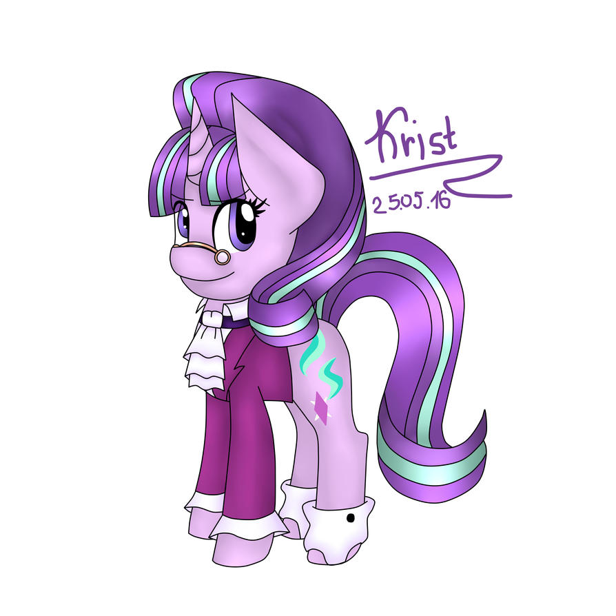 Starlight Glimmer an SnowFall Frost by Kristalina-Shining