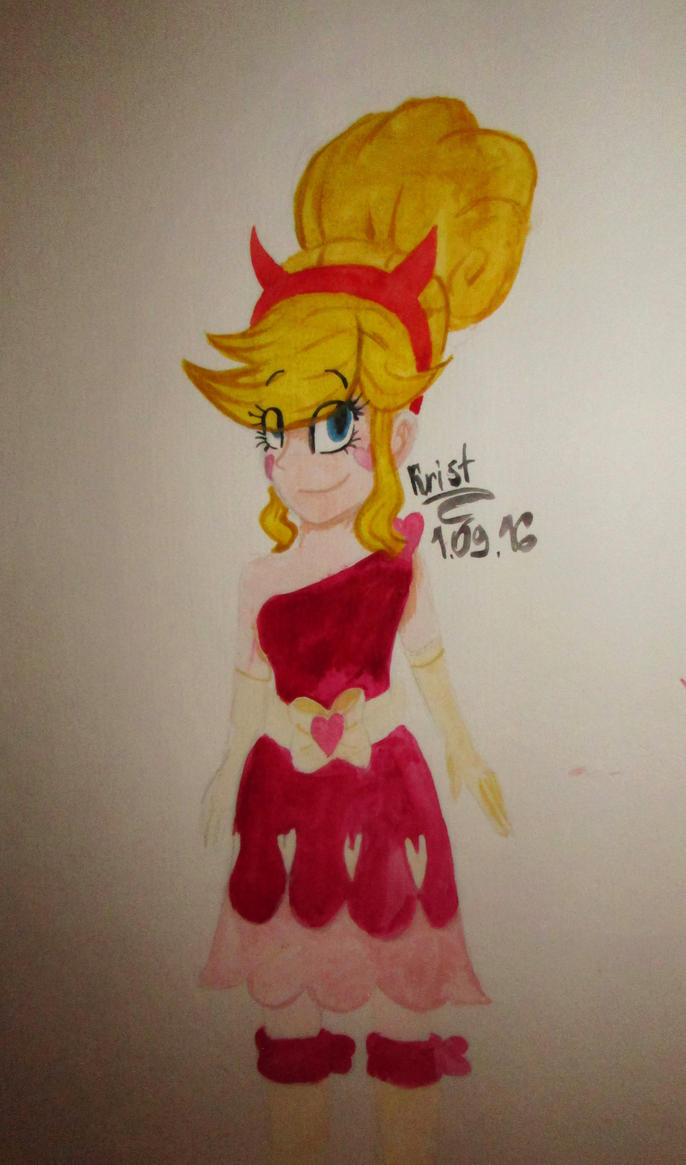 Star in a dress at the Blood Moon Ball by Kristalina-Shining