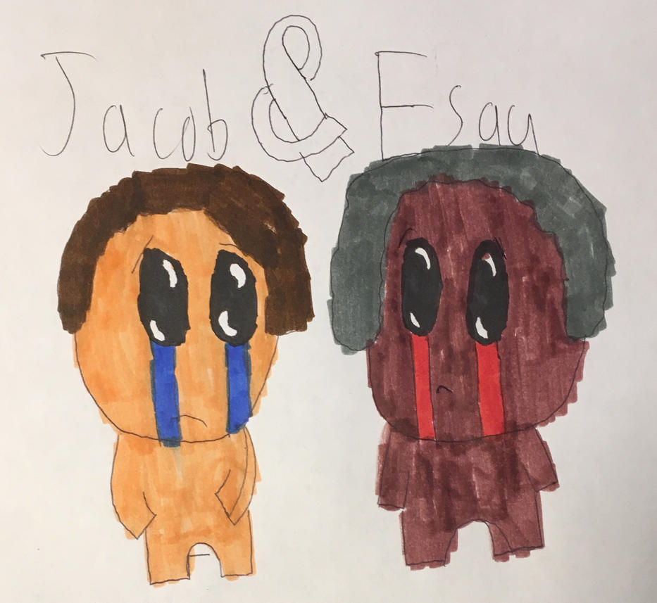 (TBOI: Antibirth) Jacob And Esau By SonictheHedgehogEXE On