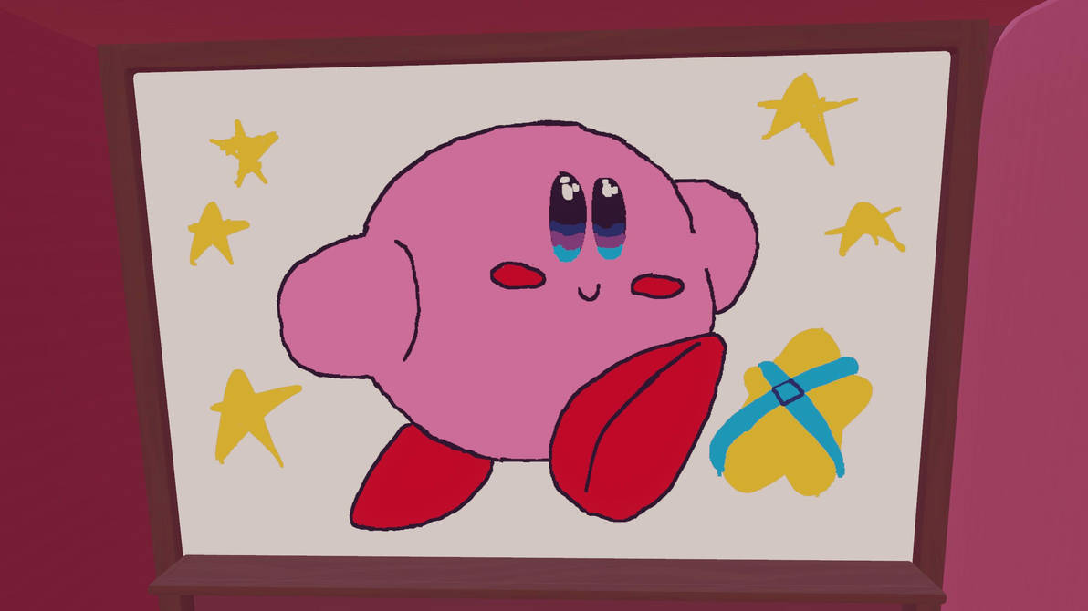 [VR Art] Kirby by SonicEXE6666
