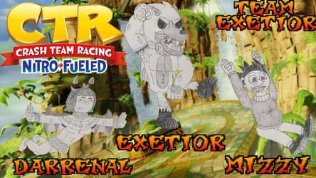 (Banner) CTR Nitro Fueled - Team Exetior