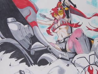 Redline, Yoko by Kwokheichan