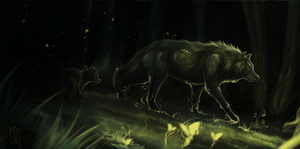 Guardians of the forest by Brevis--art
