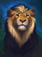 Commission: lion by Brevis--art