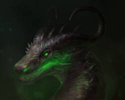 Commission: dragon by Brevis--art